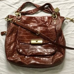 Coach Bag | Kristen Brown Crocodile